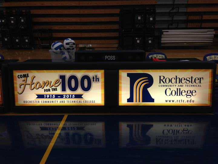 Rochester Community and Technical College Scoring Tables