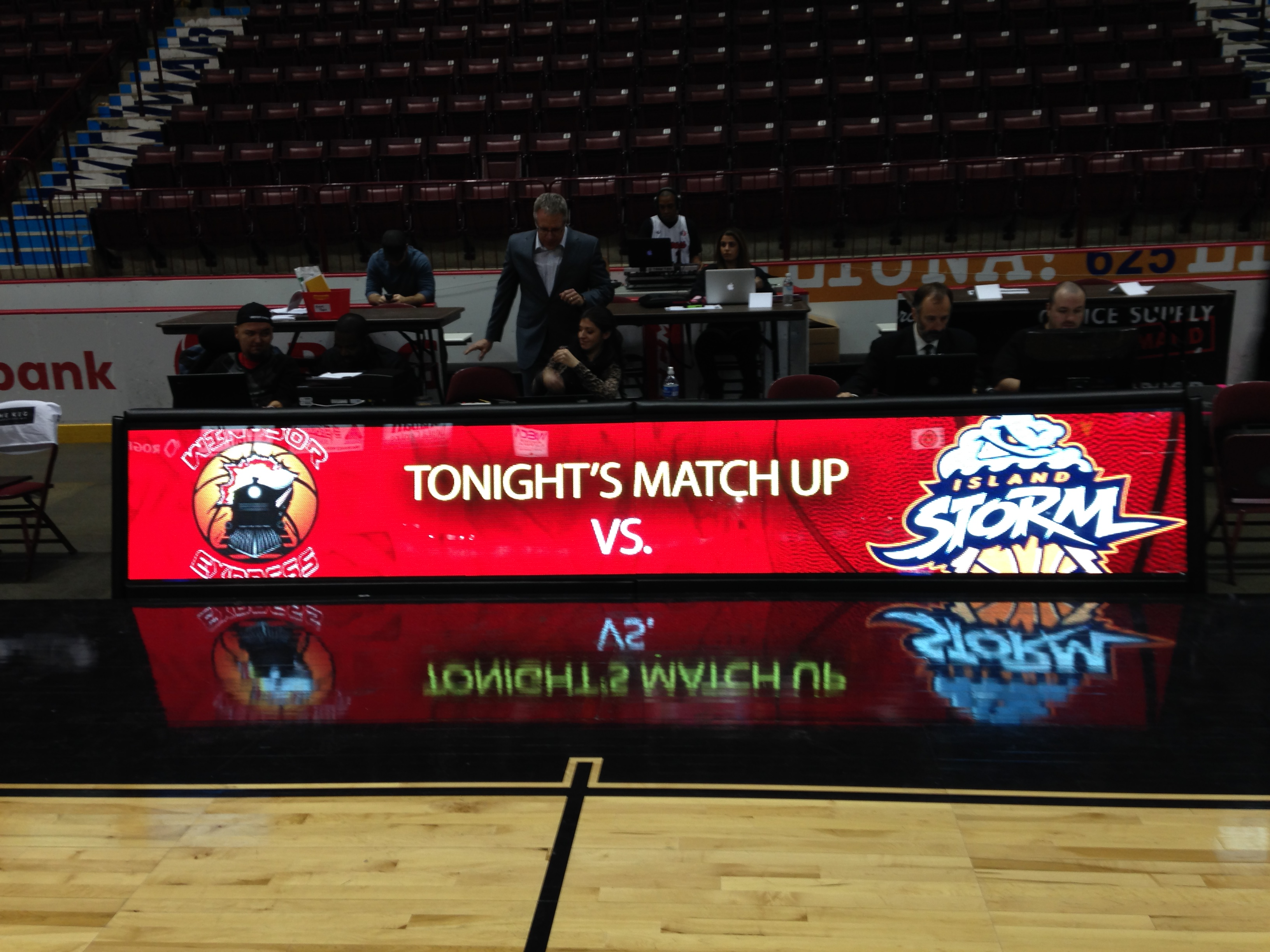 Windsor Express Professional Basketball