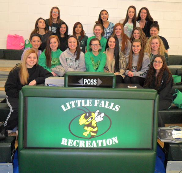 Little Falls Recreation 5' bleacher scoring table