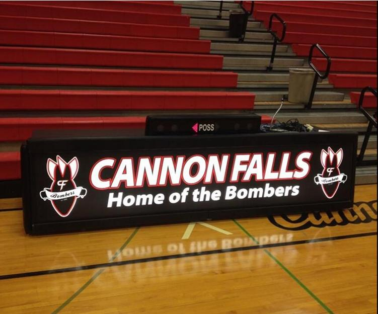 Cannon Falls 10'freestanding scoring table