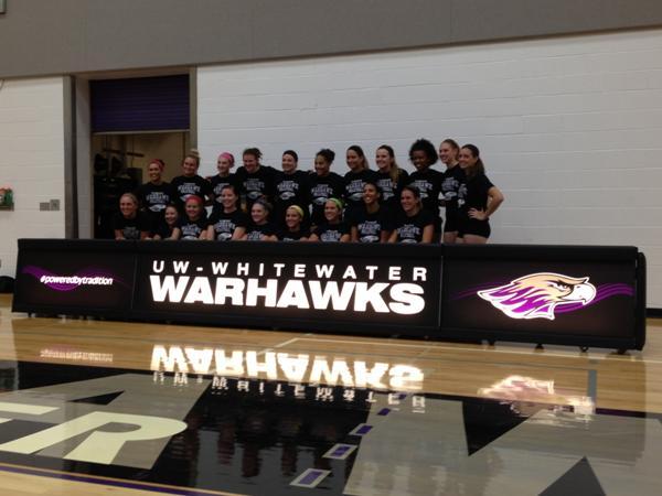 UW Whitewater Volleyball